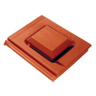 Plain Tile Cowl Vent